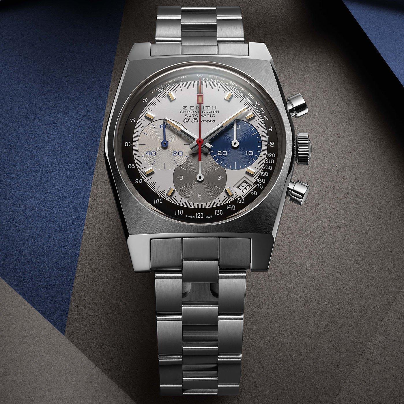 Zenith представляет часы El Primero Chronomaster Revival A3817