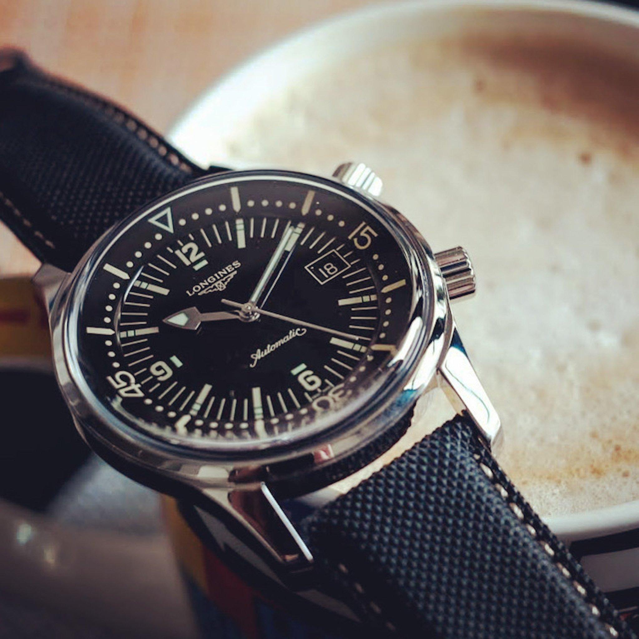 Legend Diver 42 мм циферблат с кофе