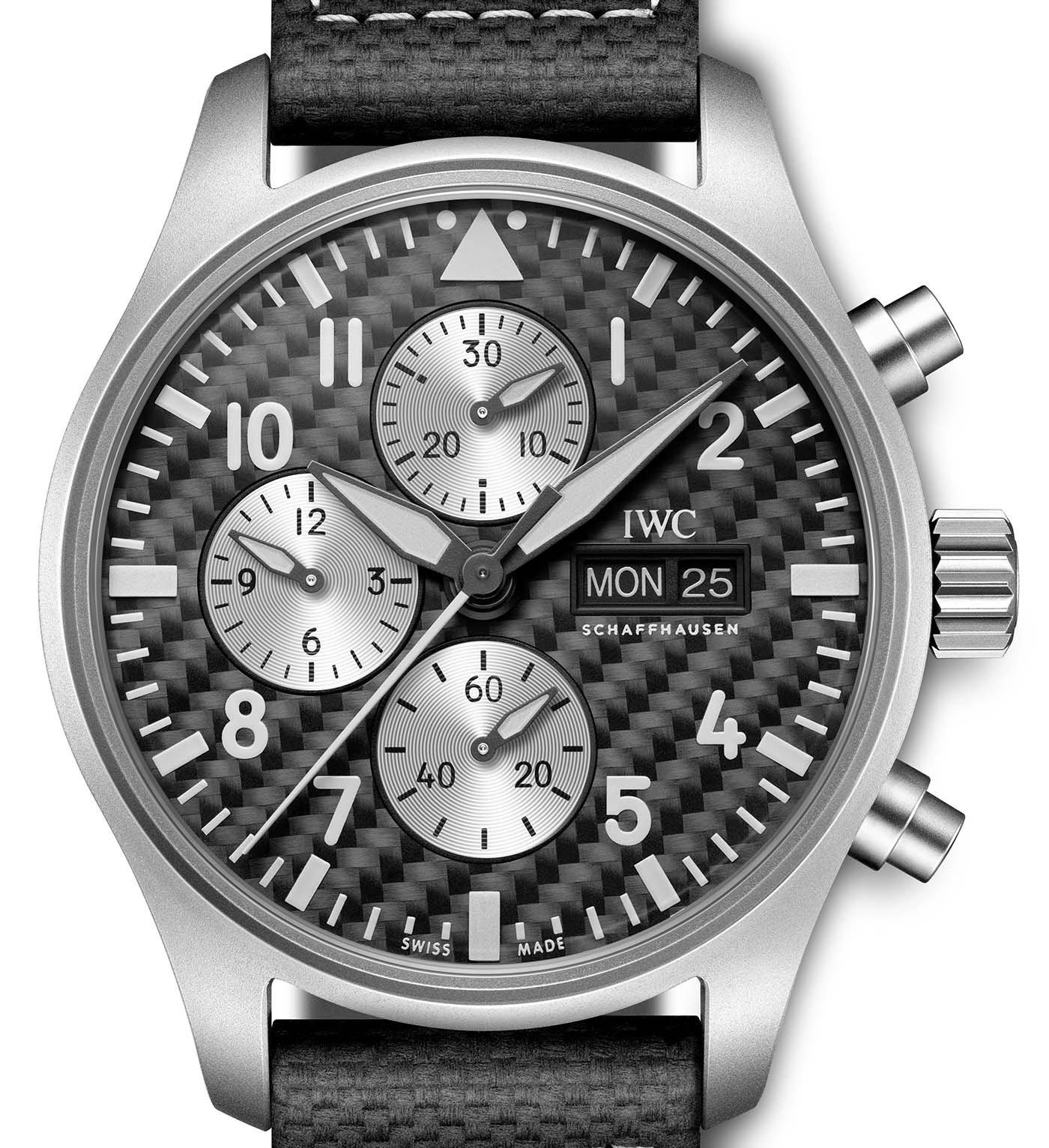 IWC представляет часы Pilot's Watch Chronograph Edition AMG