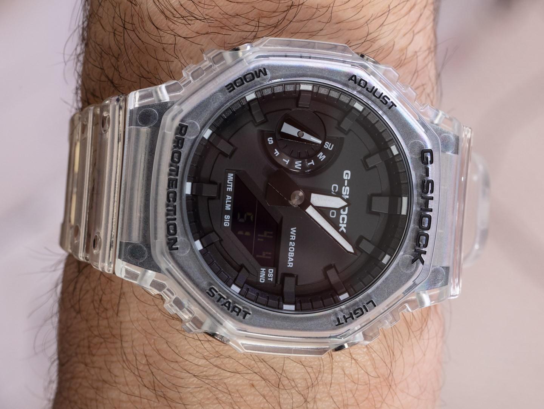 Обзор привлекательной модели Casio G-Shock GA2100SKE-7A