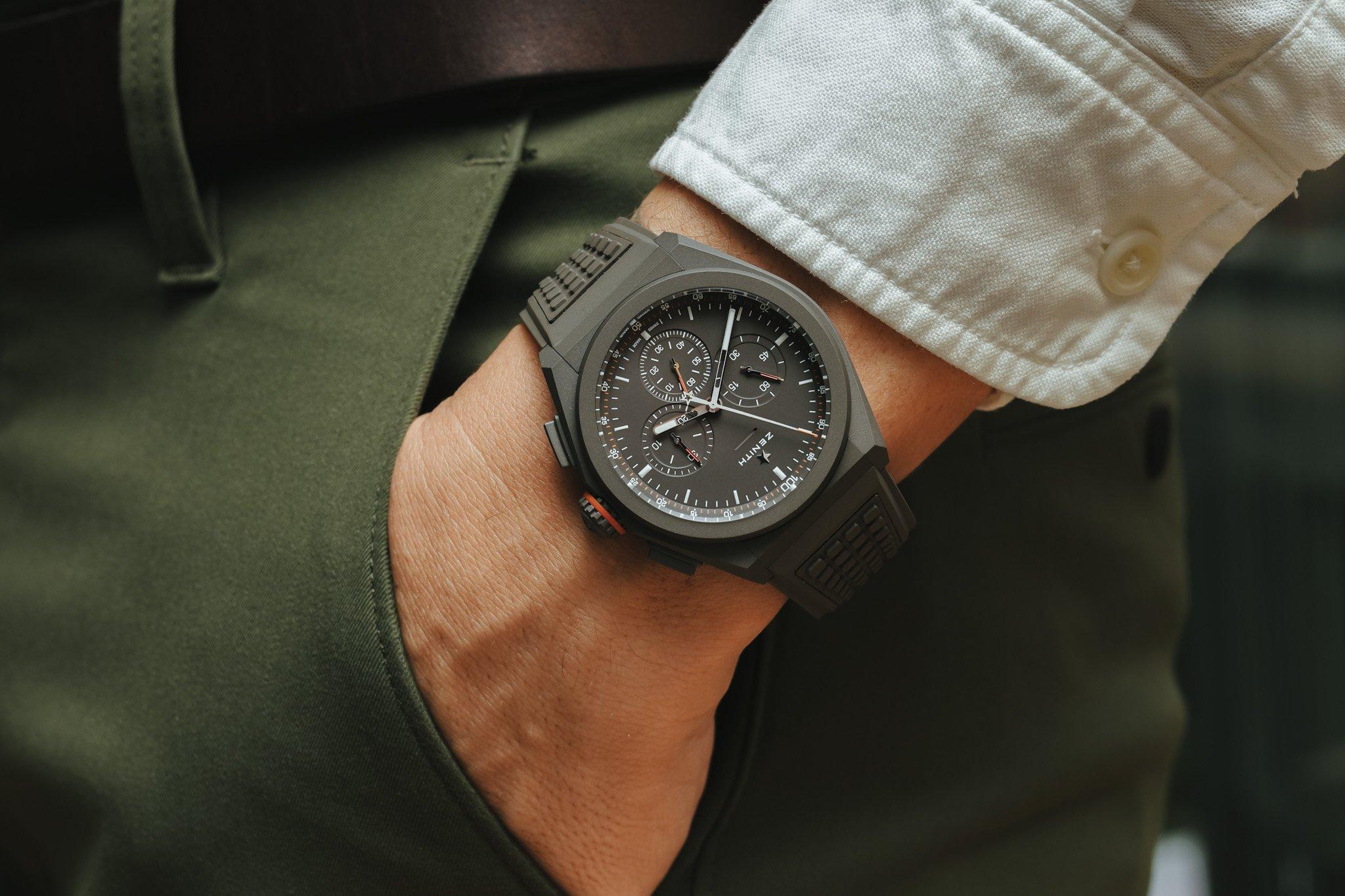 Обзор часов: Zenith El Primero Chronomaster Revival A385 с браслетом Gay Frères