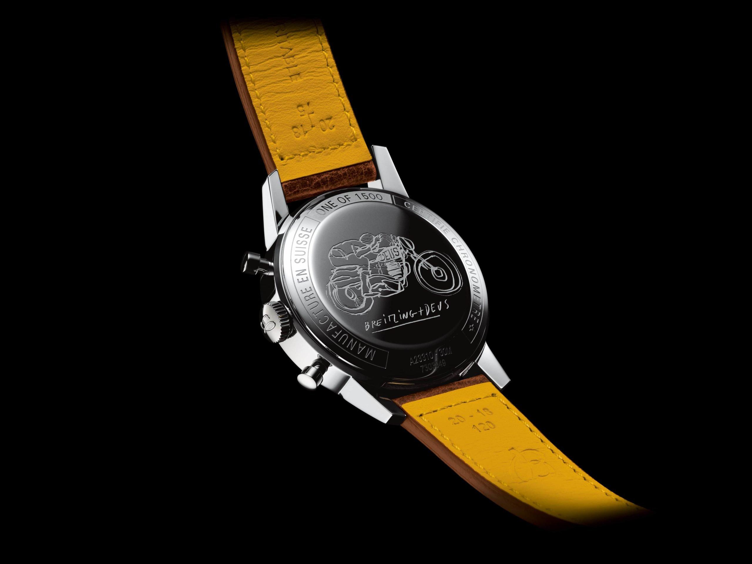 Задняя крышка с гравировкой ограниченного выпуска Breitling Top Time