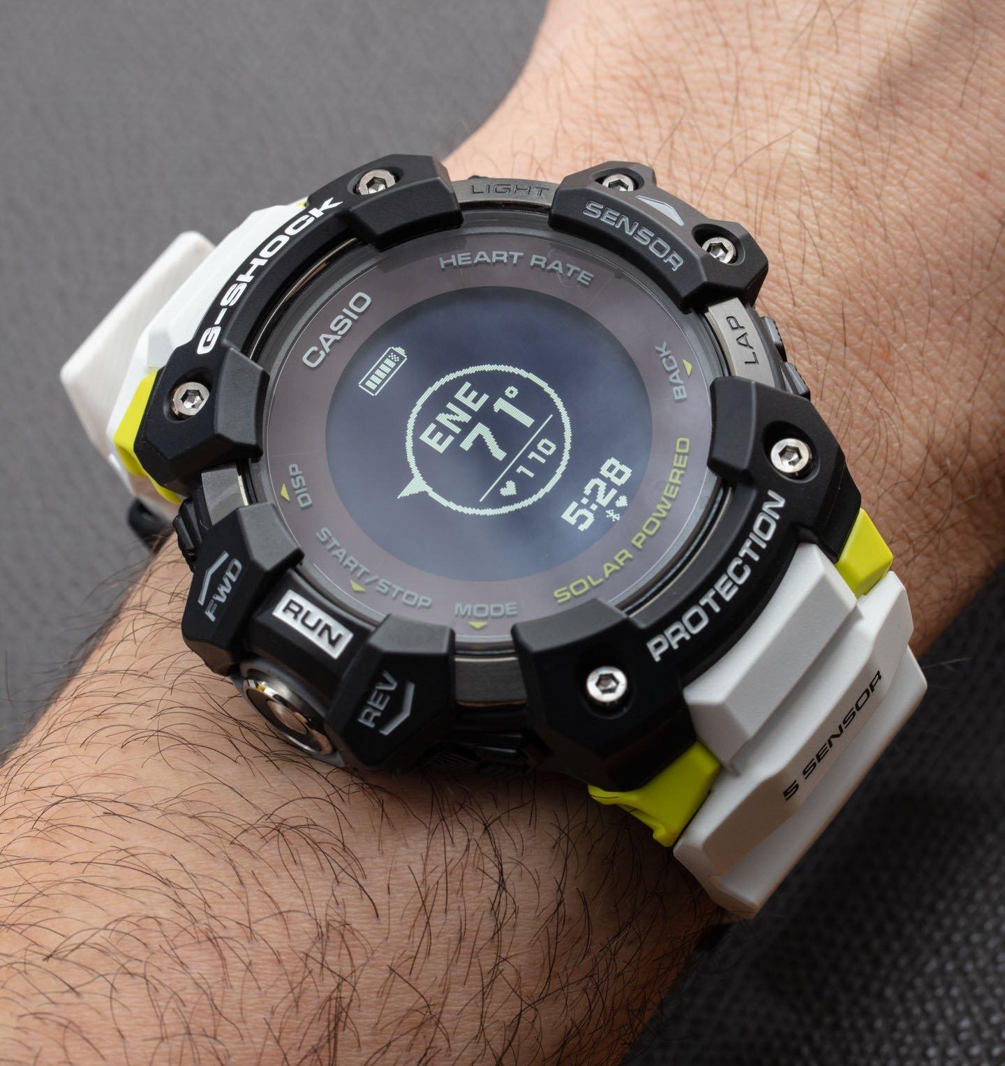 Обзор часов: Casio G-Shock Move GBD-H1000 GPS