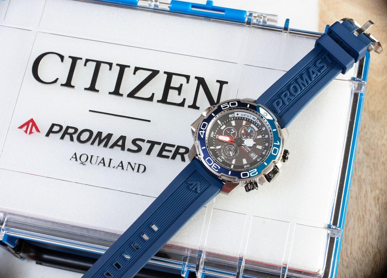 Обзор часов: Citizen Promaster Aqualand BJ2169-88E