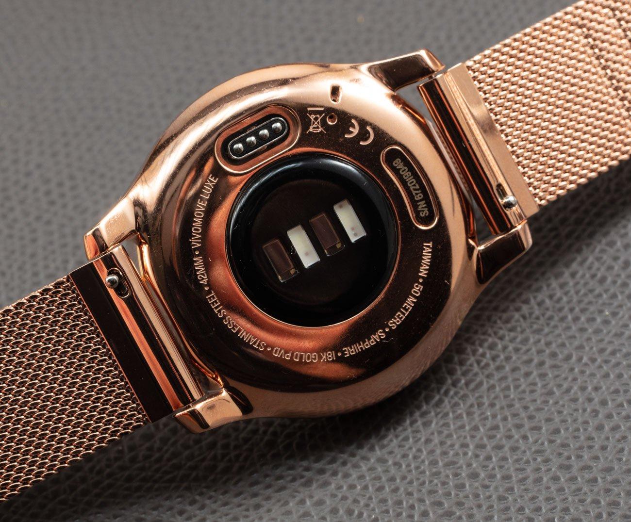 Обзор умных часов Garmin Vivomove Luxe с аналоговым / цифровым циферблатом