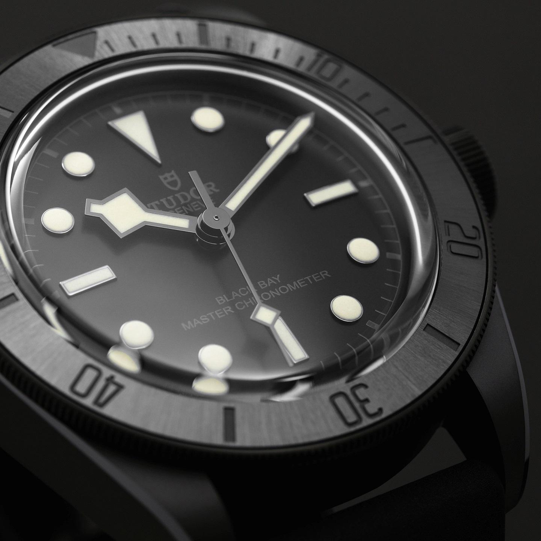 Часы Tudor Black Bay Ceramic Master с хронометром