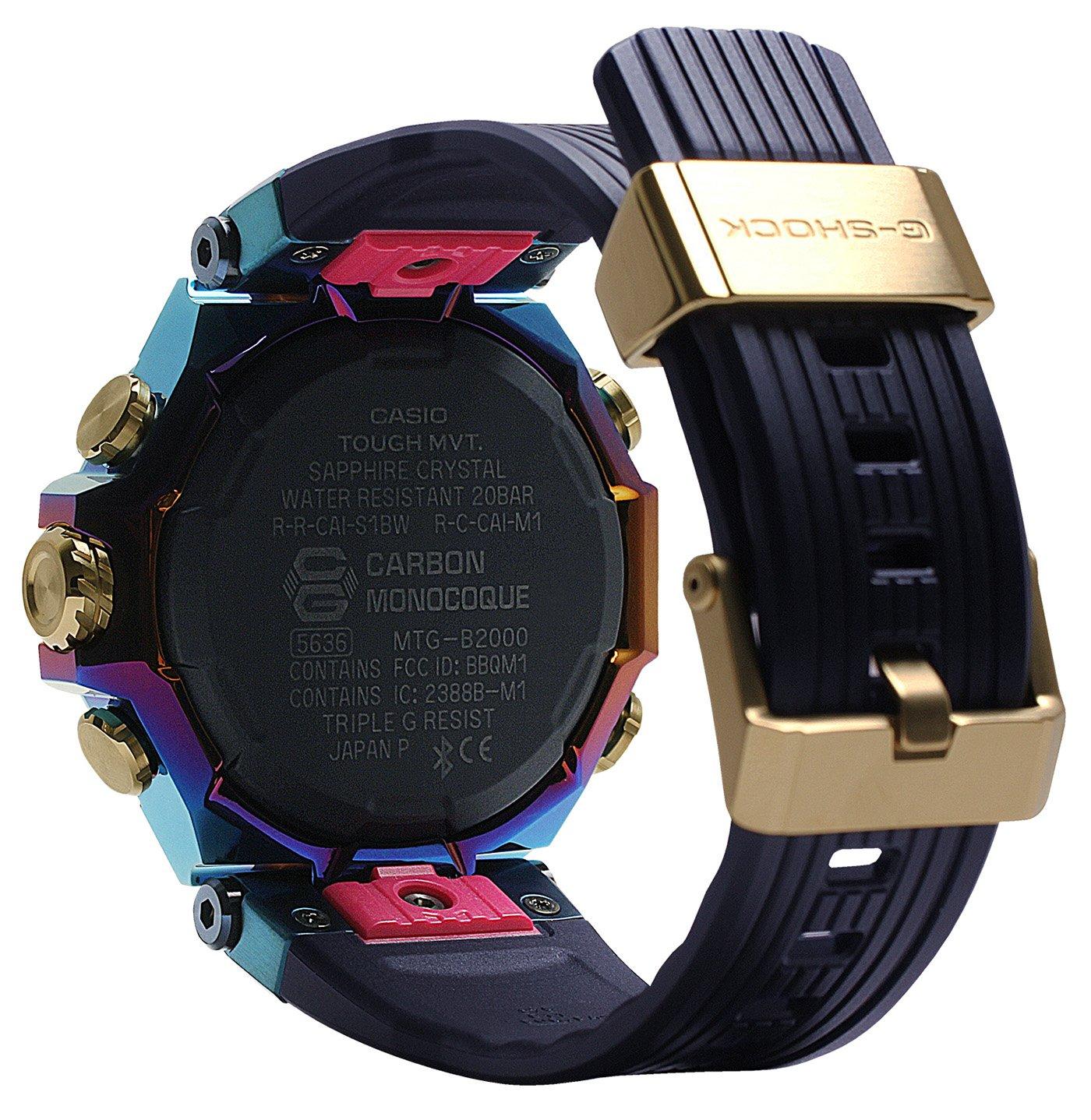 Casio выпускает ограниченную серию часов G-Shock MT-G MTGB2000PH2A Blue Phoenix