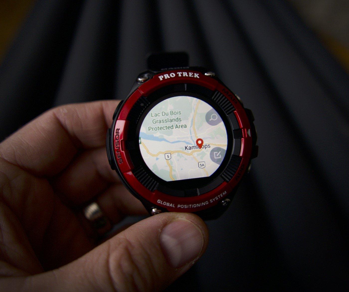 Обзор умных часов Casio Pro Trek WSD-F21 HR