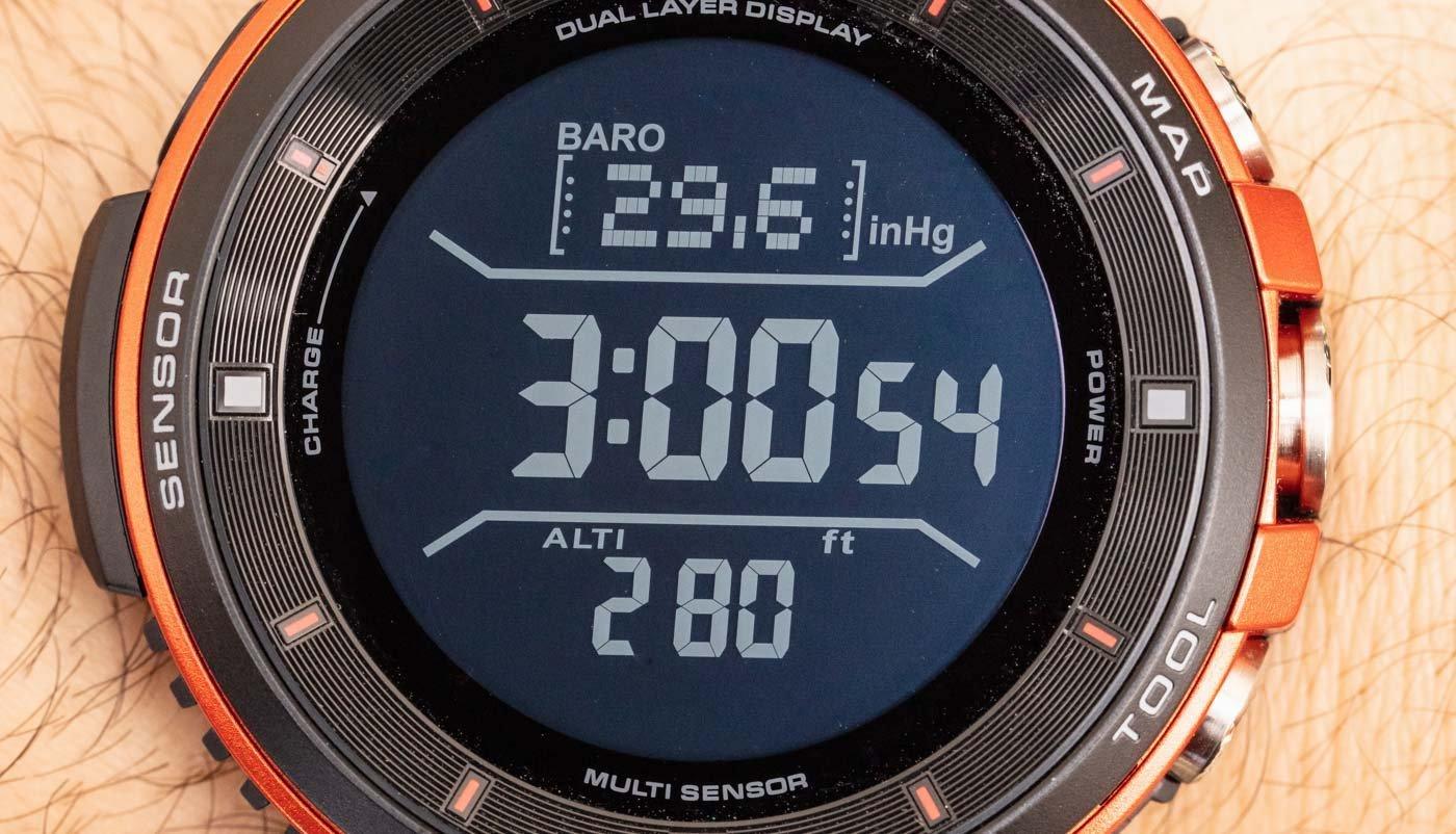 Обзор смарт-часов Casio Pro Trek Smart WSD-F30