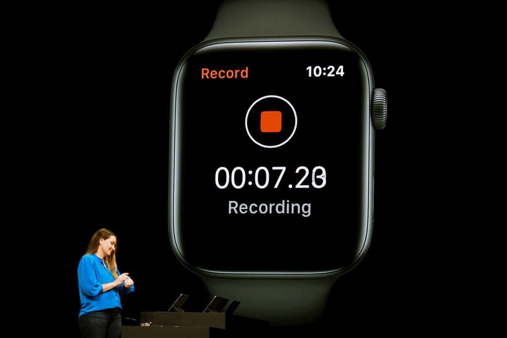 Новое обновление Apple Watch Series 4 до системы WatchOS 6