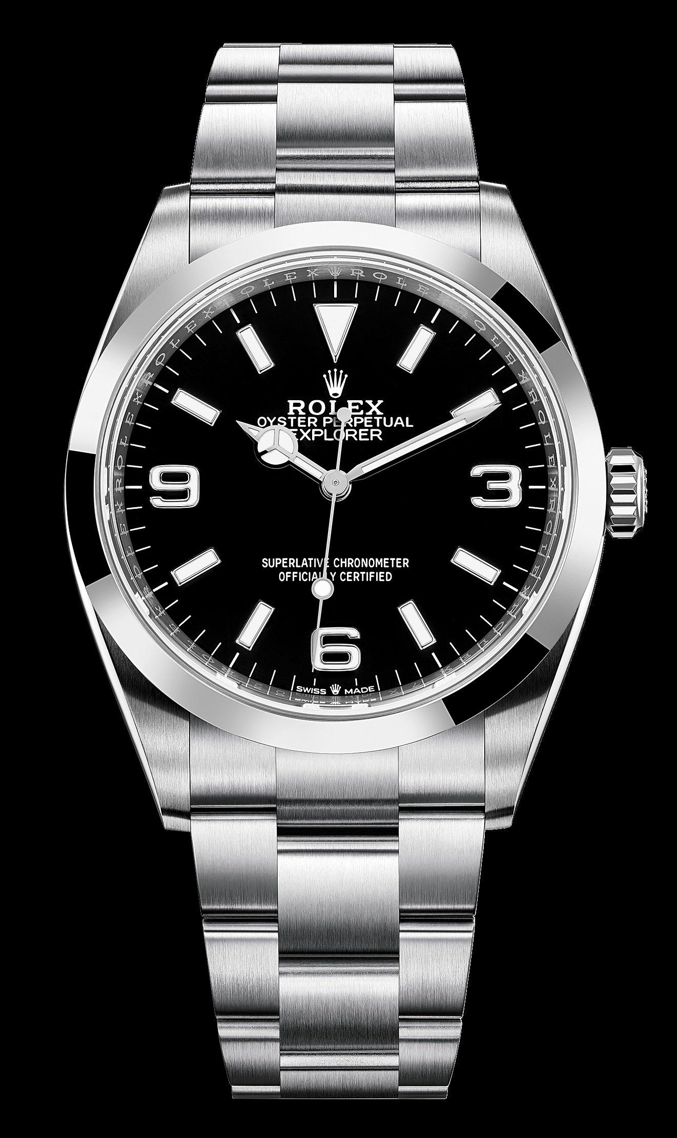 Rolex Explorer 1 124270 Циферблат