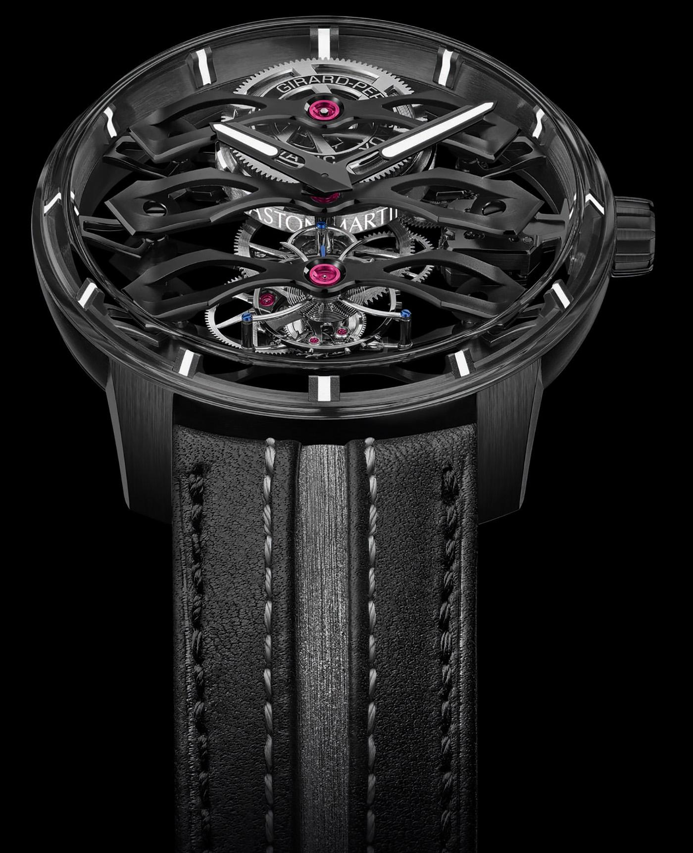 Girard-Perregaux представляет ограниченную модель наручных часов Aston Martin Edition