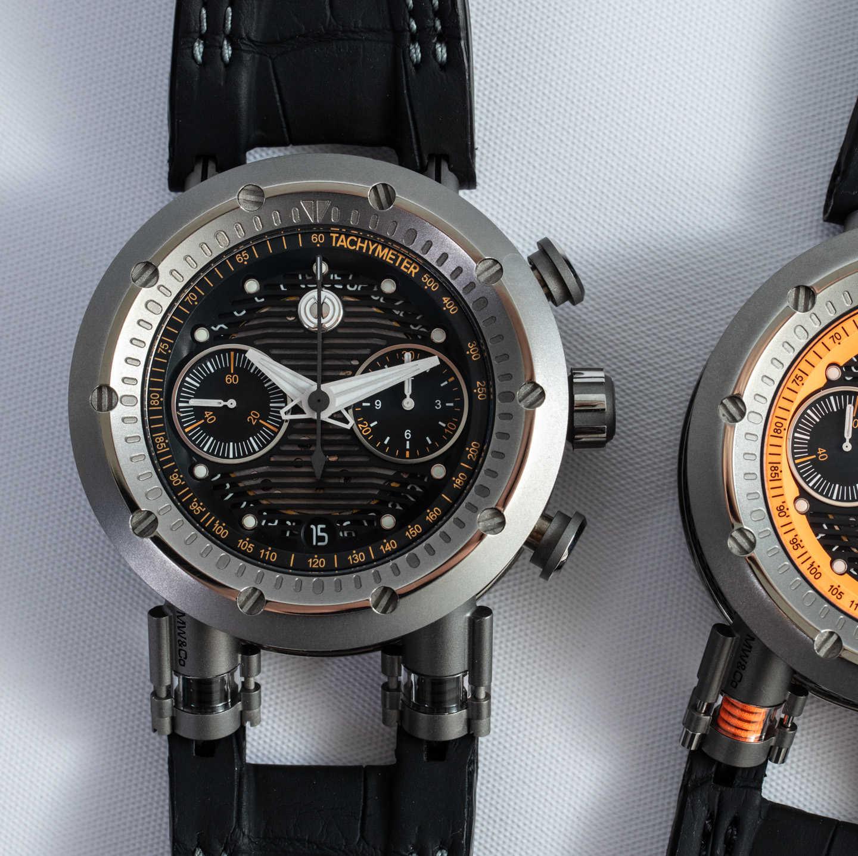 Обзор часов: серия автоматических хронографов с функцией Flyback от MW & Co Asset