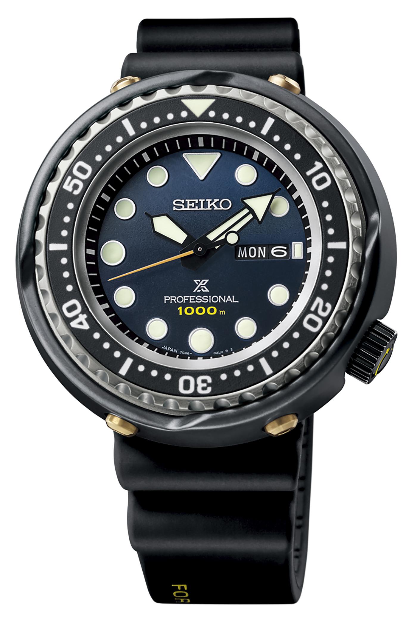Seiko представляет часы Prospex 1986 Quartz Diver ограниченным тиражом к 35-летию