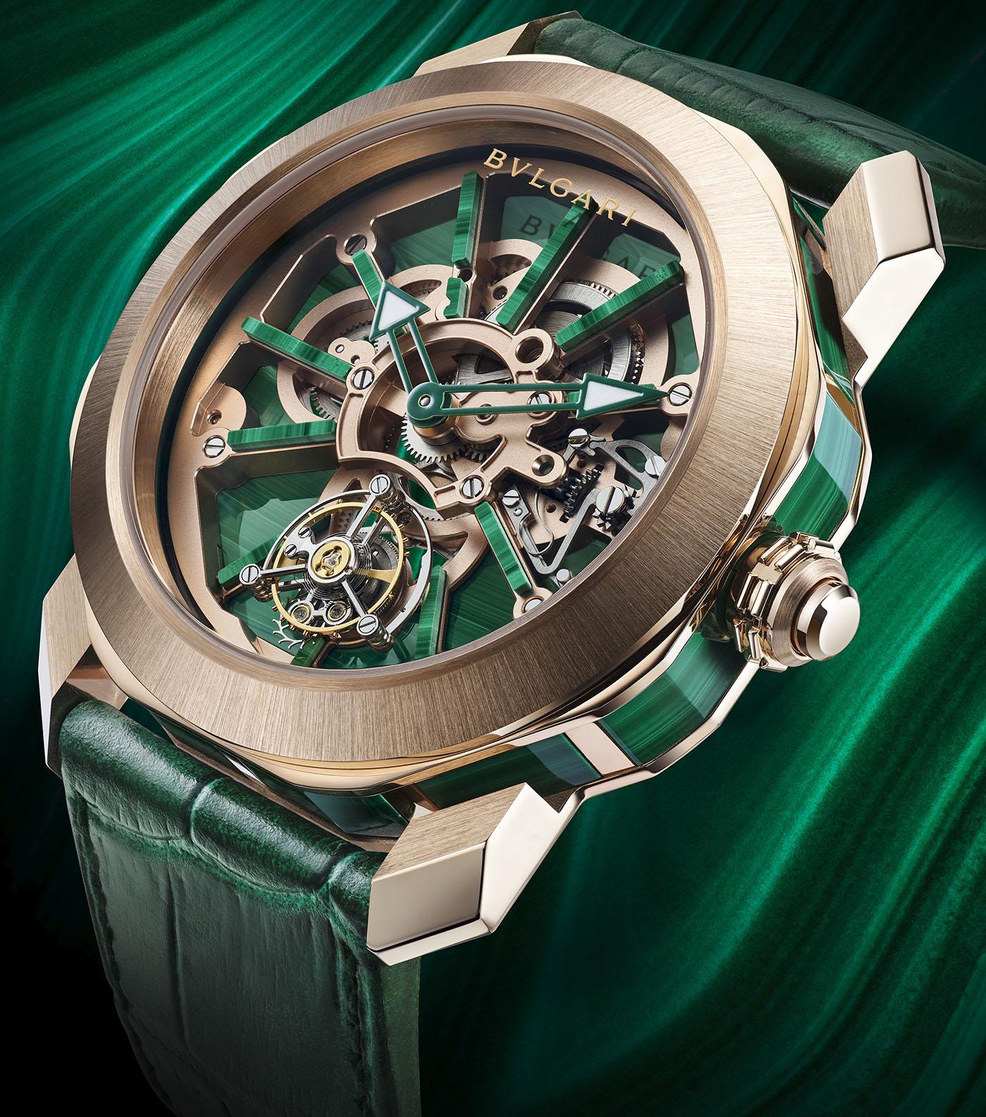 Bulgari объявляет о выпуске серии часов Octo Roma Naturalia с возможностью индивидуальной настройки