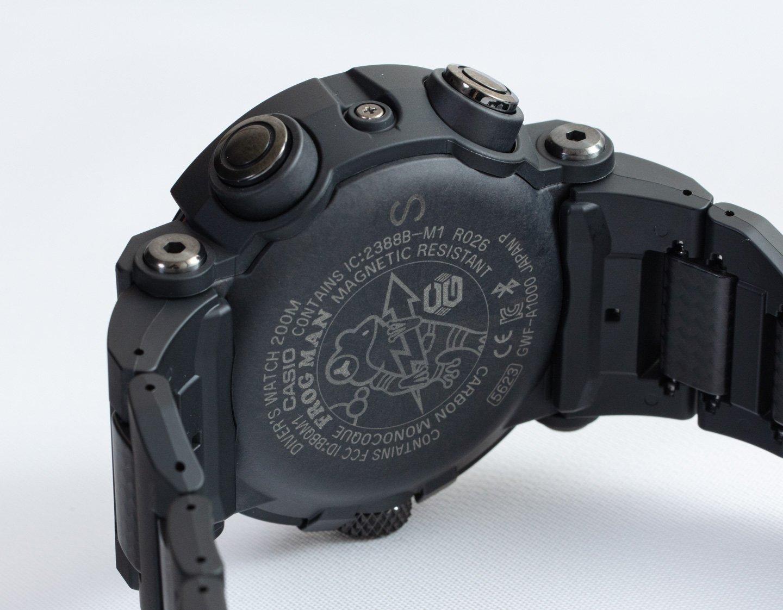 Обзор часов Casio G-Shock Frogman GWF-A1000XC-1A с новыми материалами корпуса