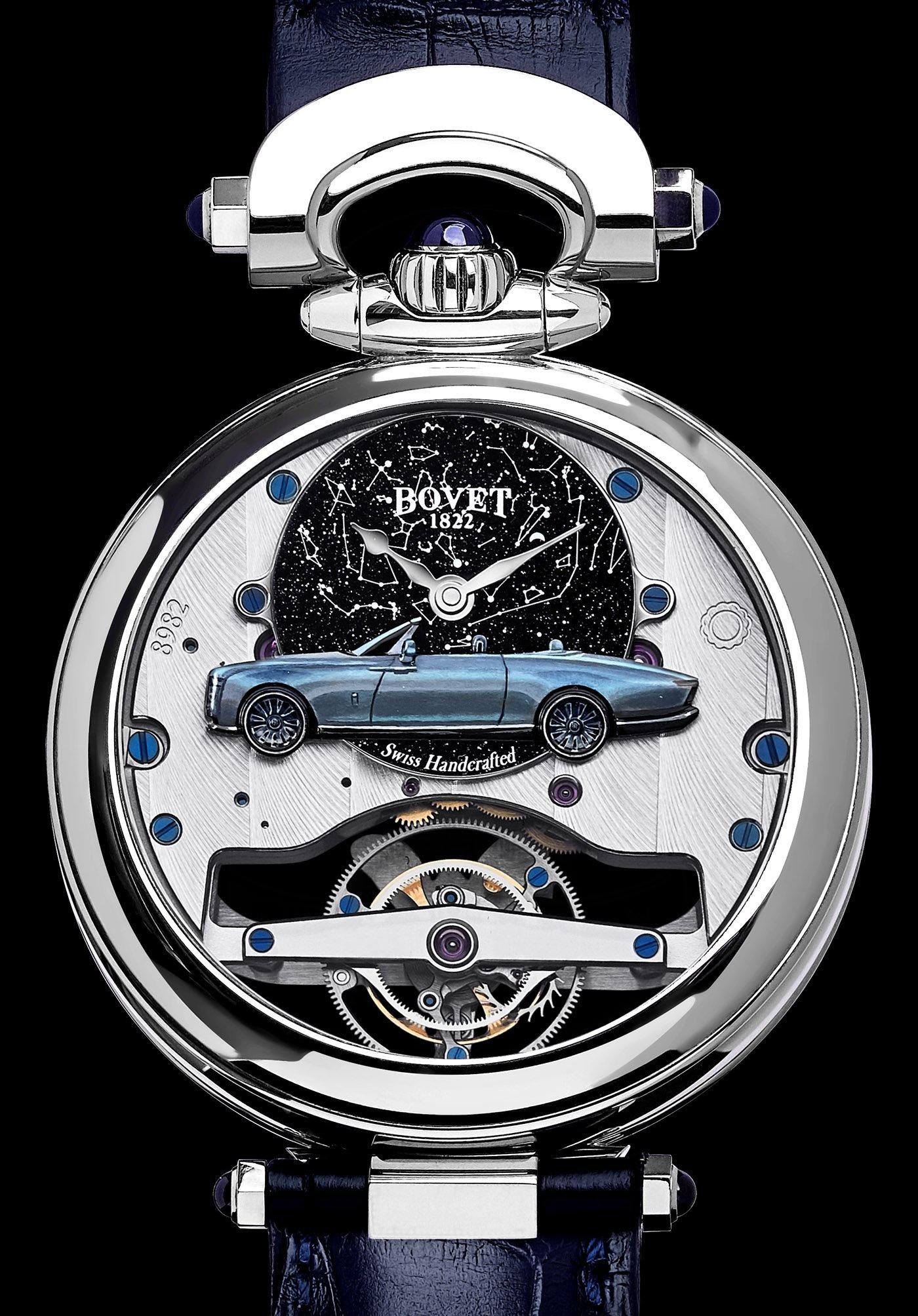 Компании Bovet и Rolls-Royce создали совместно уникальные часы