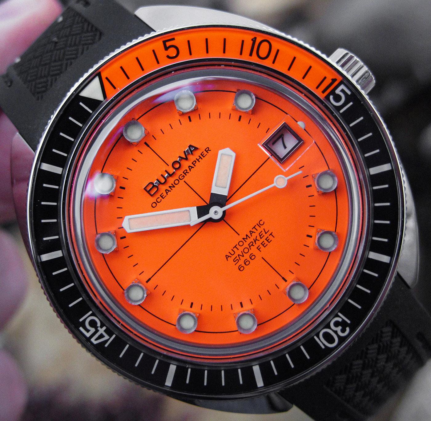 Обзор часов Bulova Oceanographer 'Devil Diver'