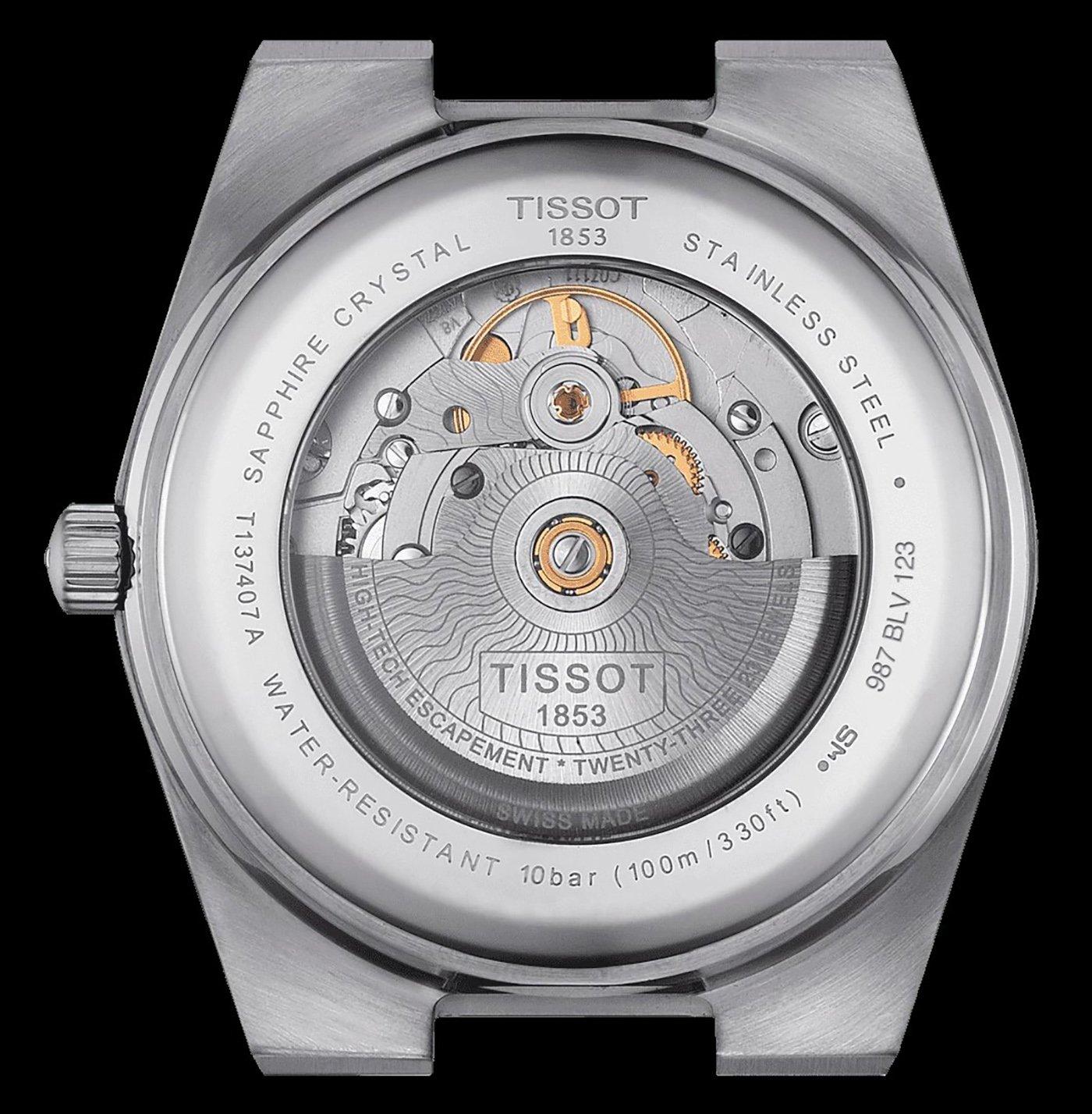 Tissot представляет автоматические часы PRX 40205