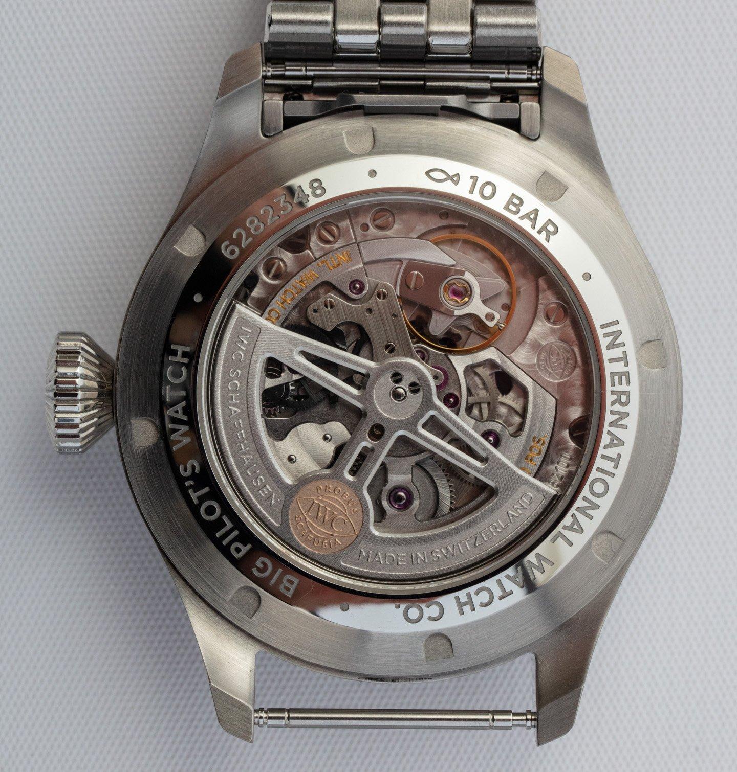 Обзор часов: IWC Big Pilot's Watch 43