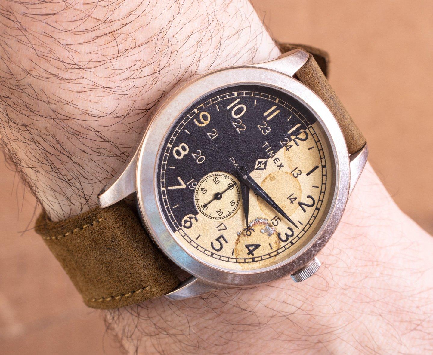 Дебют на руке: Часы Timex X MadeWorn American Documents
