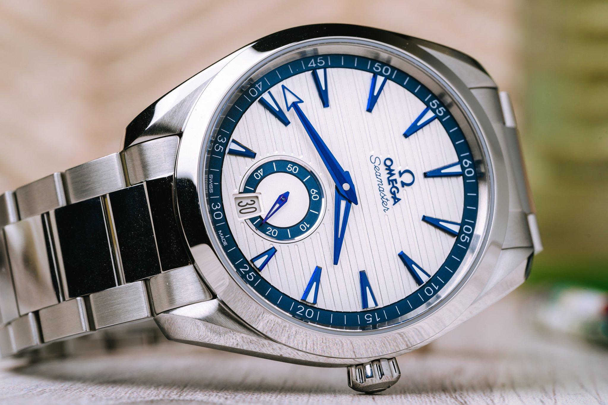Знакомство с новой моделью Omega Seamaster Aqua Terra Small Seconds