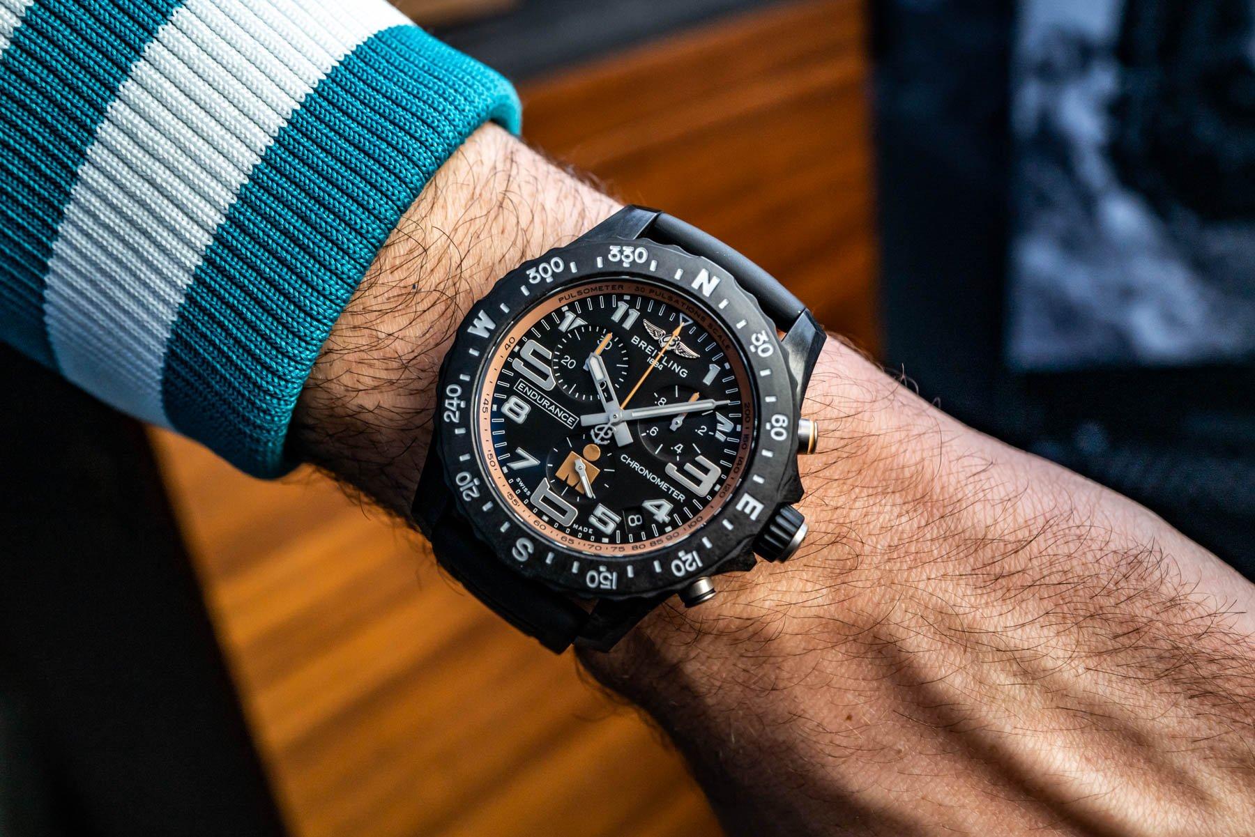 Испытание на практике: часы Breitling Endurance Pro Ironman