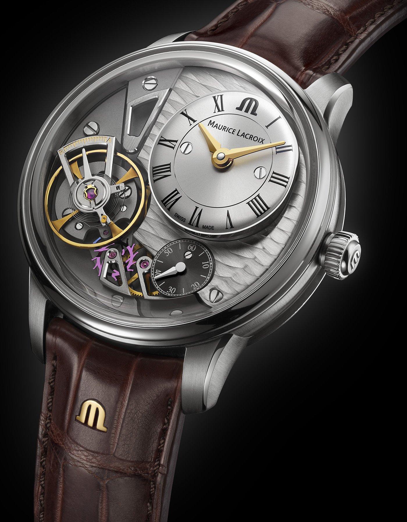 Maurice Lacroix анонсирует обновленные часы Masterpiece Gravity Watch