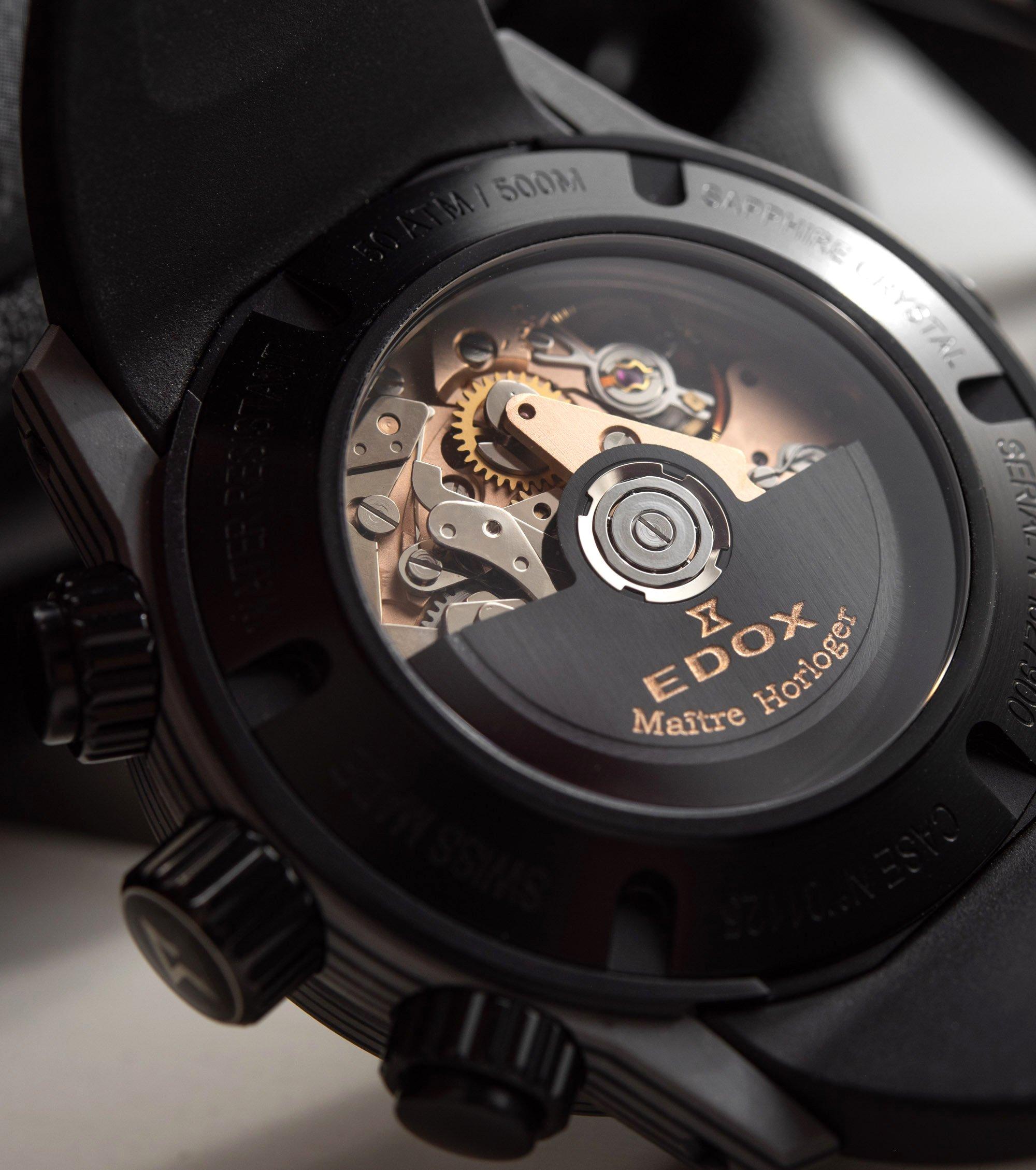 Обзор часов: Edox CO-1 Carbon Chronograph