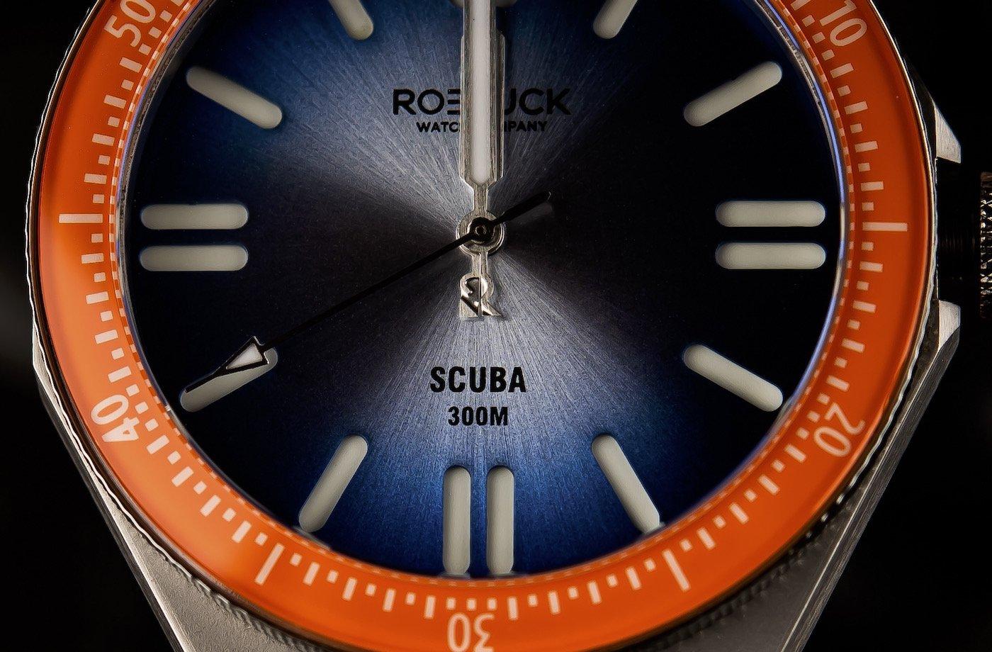 Roebuck возвращает стиль 1970-х годов с современным уклоном в SCUBA