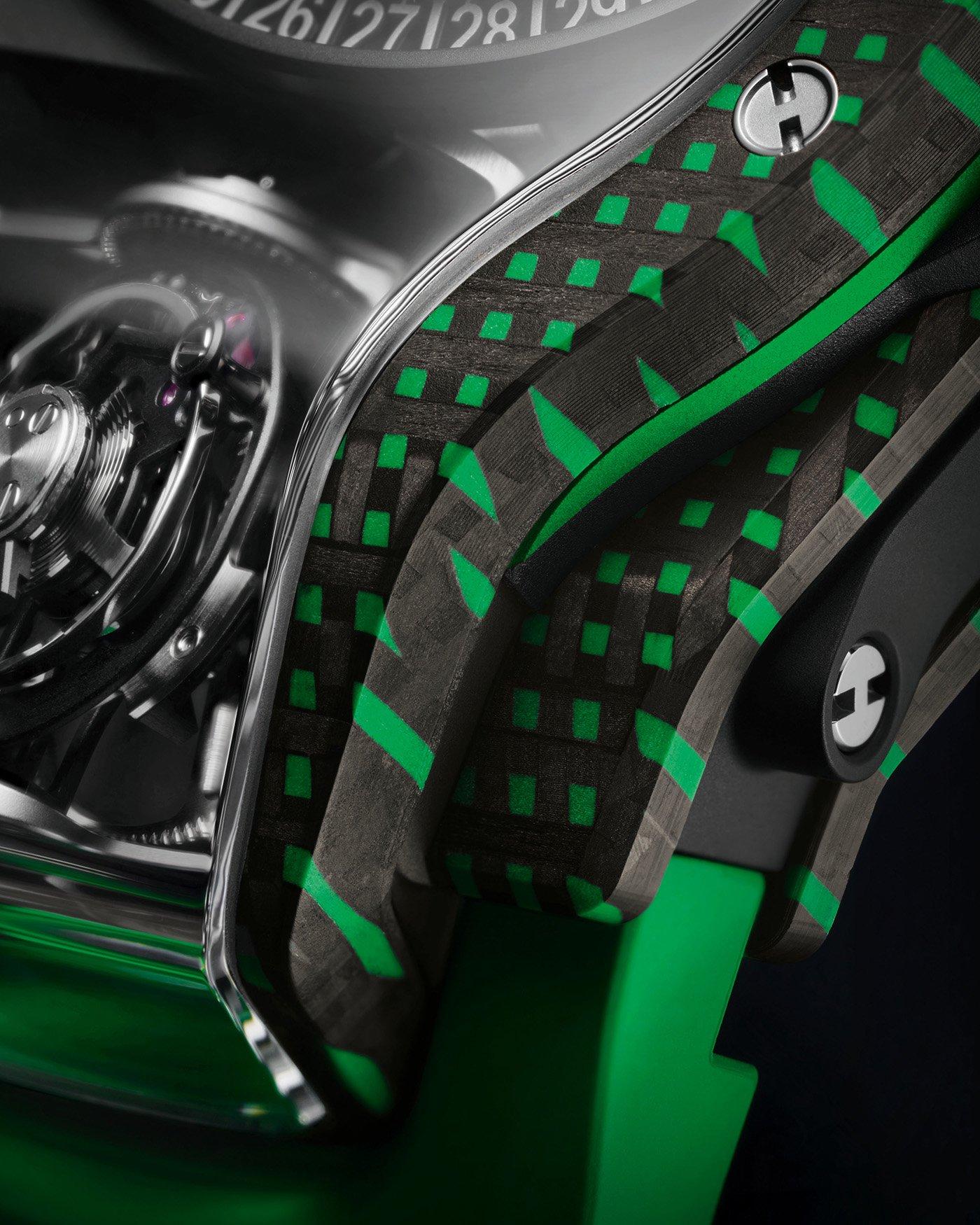 Hublot представляет ограниченную серию часов MP-09 Tourbillon Bi-Axis 5 Days Power Reserve 3D Carbon