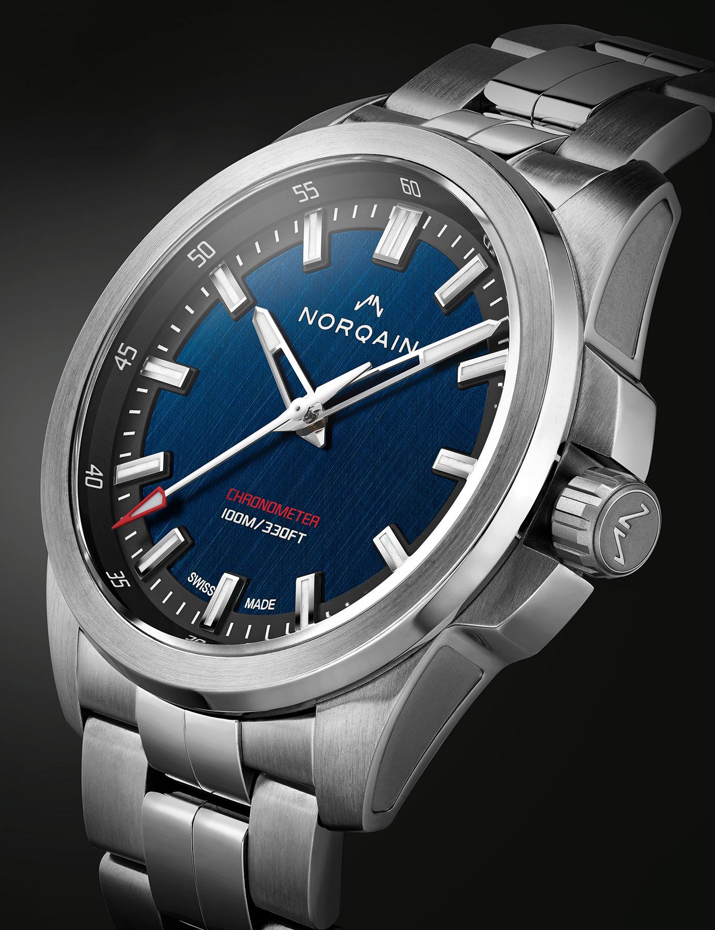 NORQAIN представляет серию часов Independence 21 с двумя ограниченными сериями