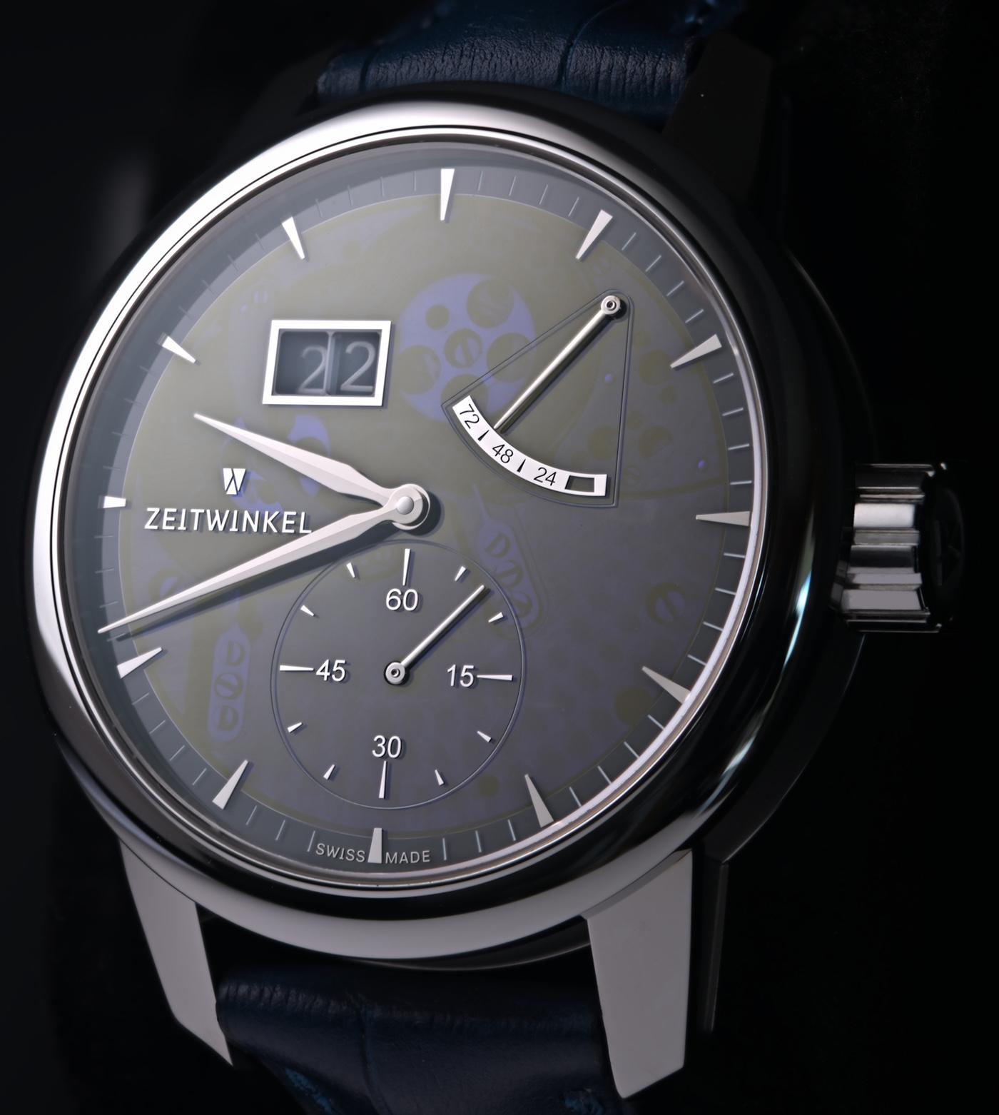 Zeitwinkel представляет часы 273 ° Saphir Bleu