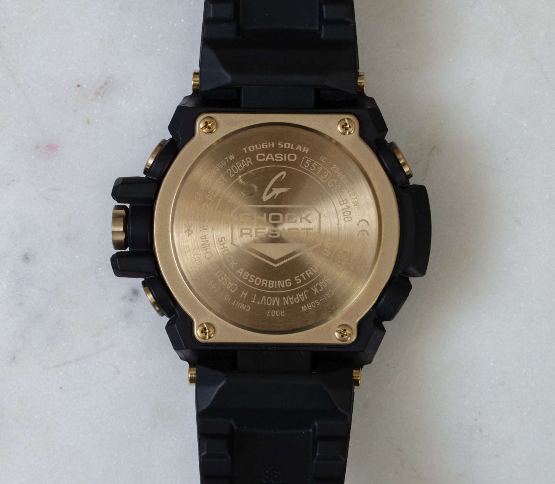 Наручные часы: Casio G-Shock G-Steel GSTB100GC-1A Black & Gold