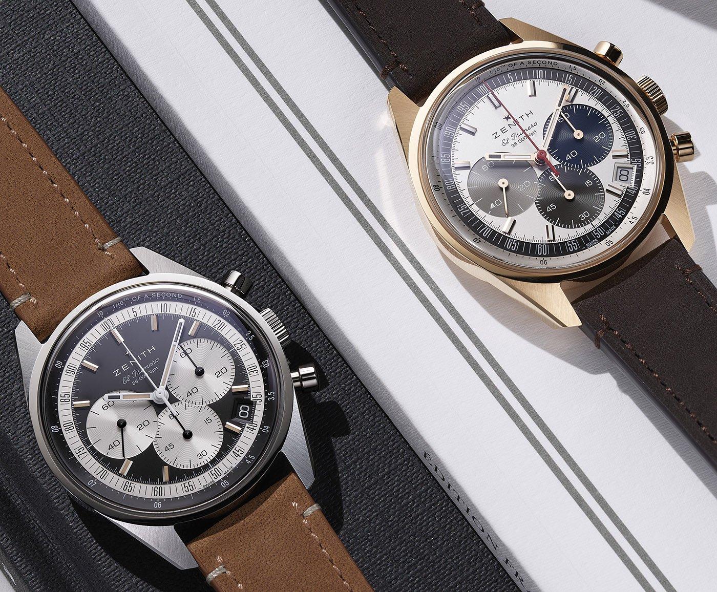 Zenith представляет серию оригинальных часов El Primero Chronomaster
