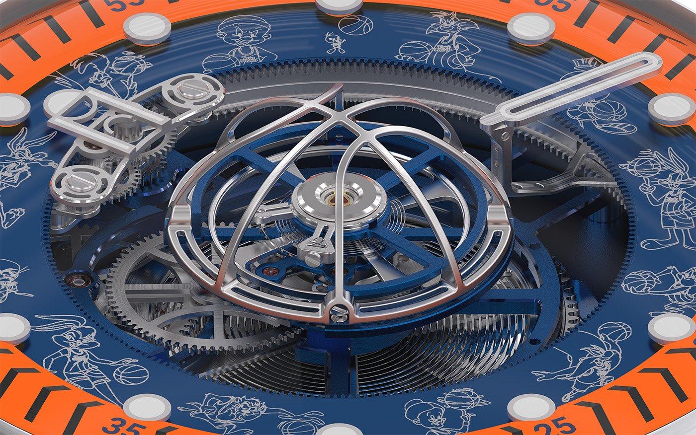 Kross Studio представляет лимитированную серию часов Space Jam Tourbillon