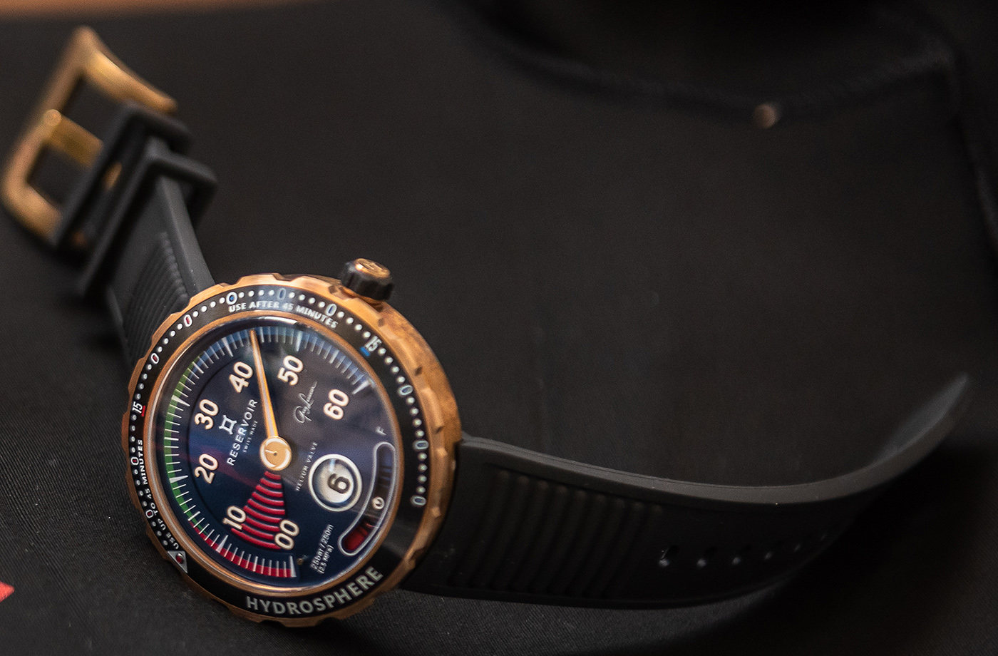 Reservoir представляет лимитированные часы Hydrosphere - Greg Lecoeur Edition Watch