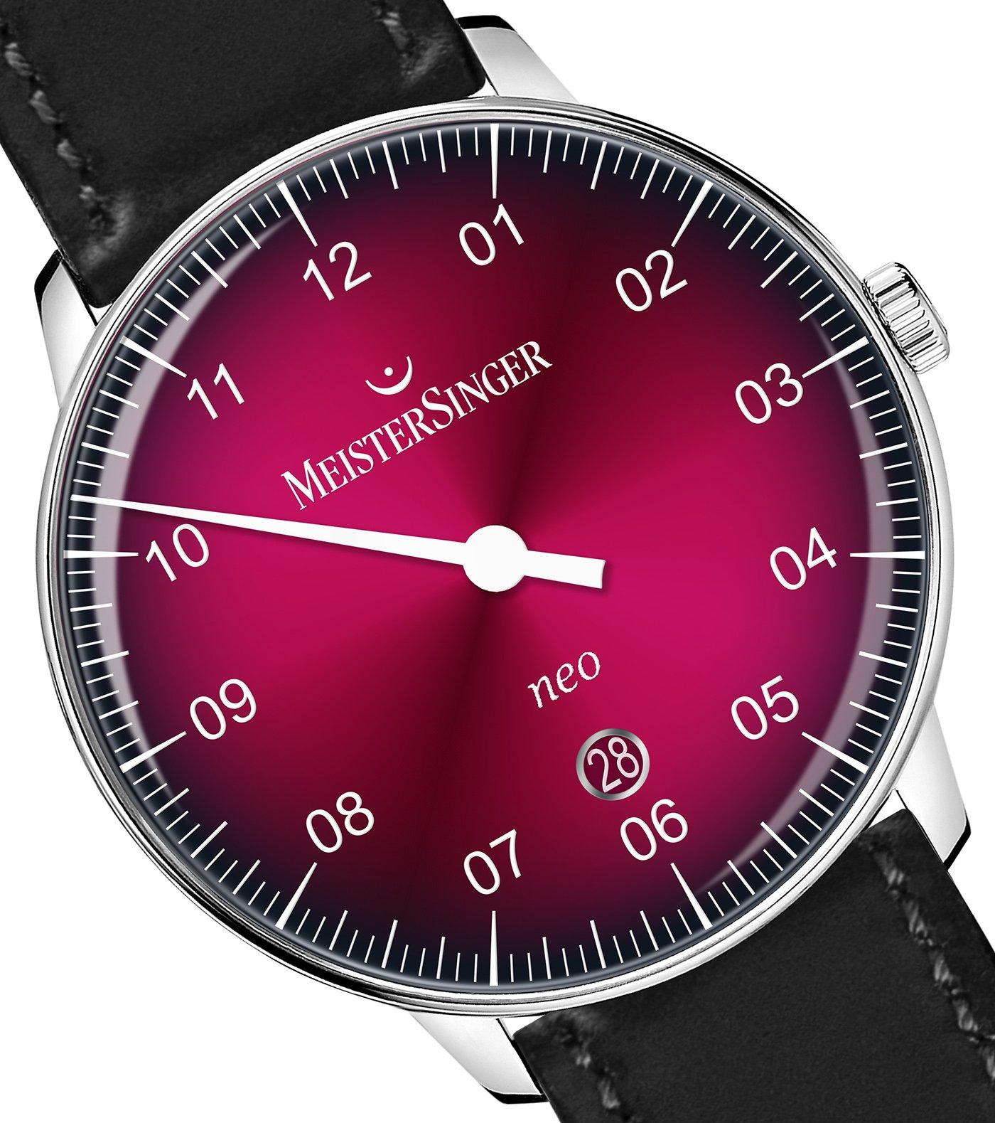 Meistersinger представляет часы Neo Bordeaux Degradé