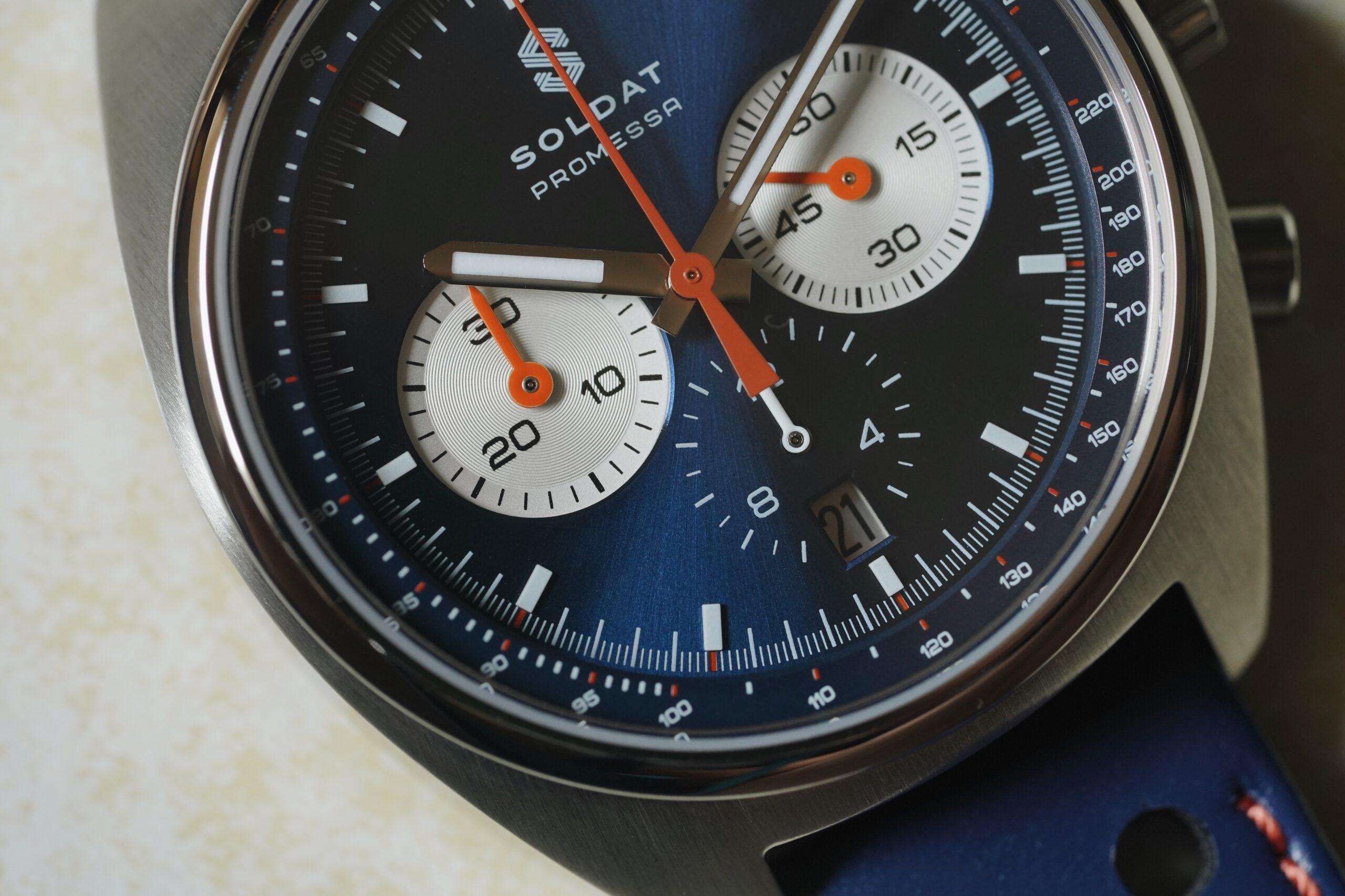 Soldat выпускает гоночный хронограф, вдохновленный 1970-ми годами