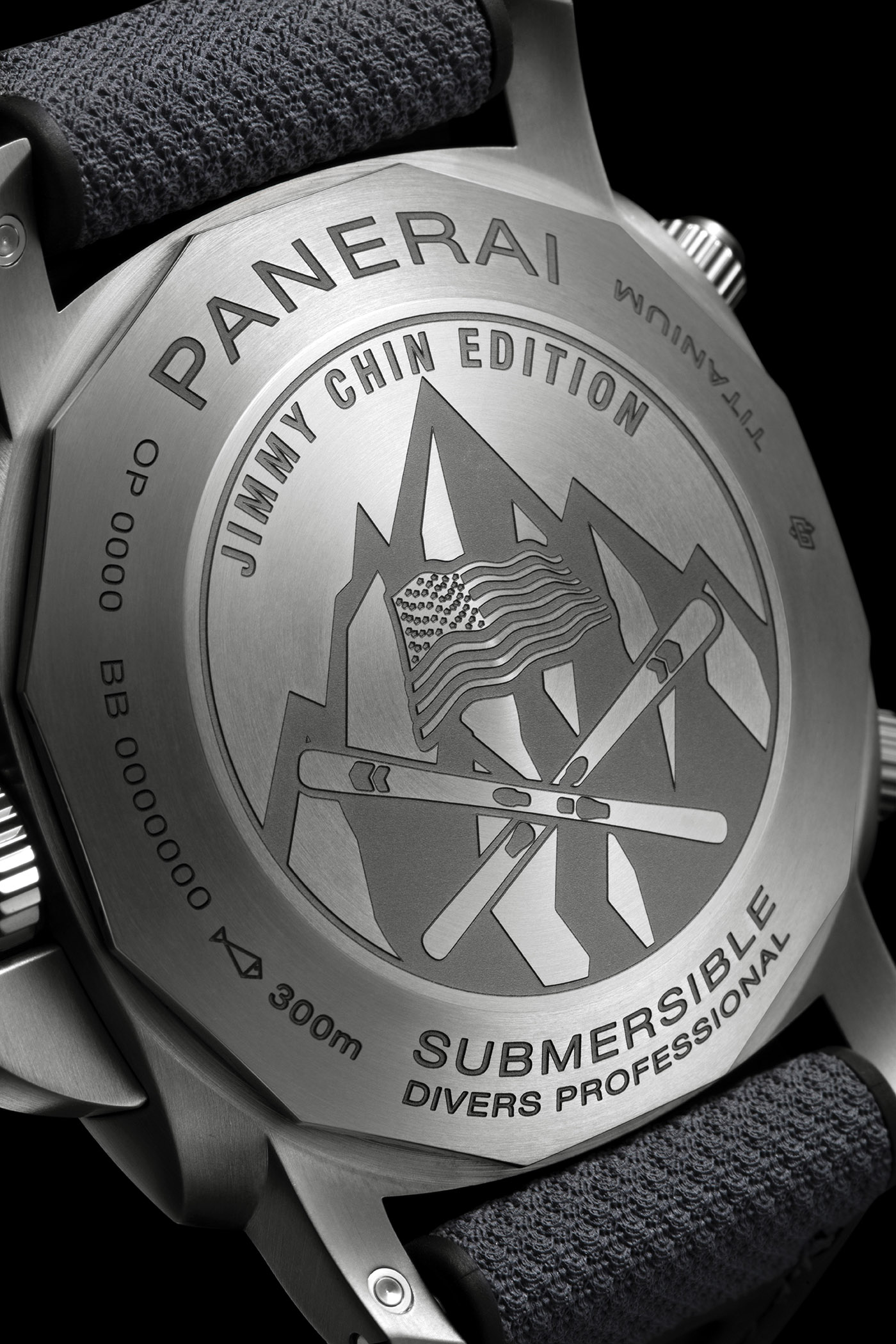 Panerai представляет погружные часы Chrono Flyback - J. Chin Edition