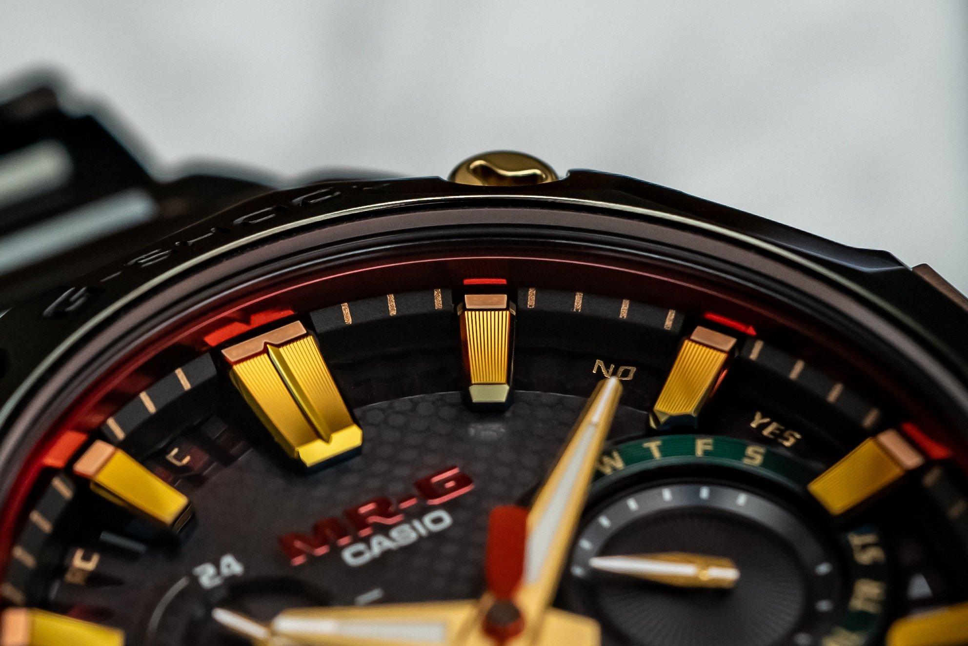 Часы Casio G-Shock MR-G Hana-Basara, вдохновленные самурайскими доспехами