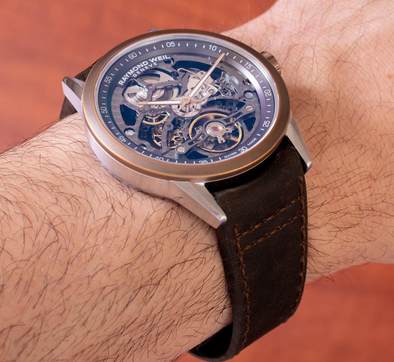 Обзор часов: Raymond Weil Freelancer RW1212 Skeleton Bronze