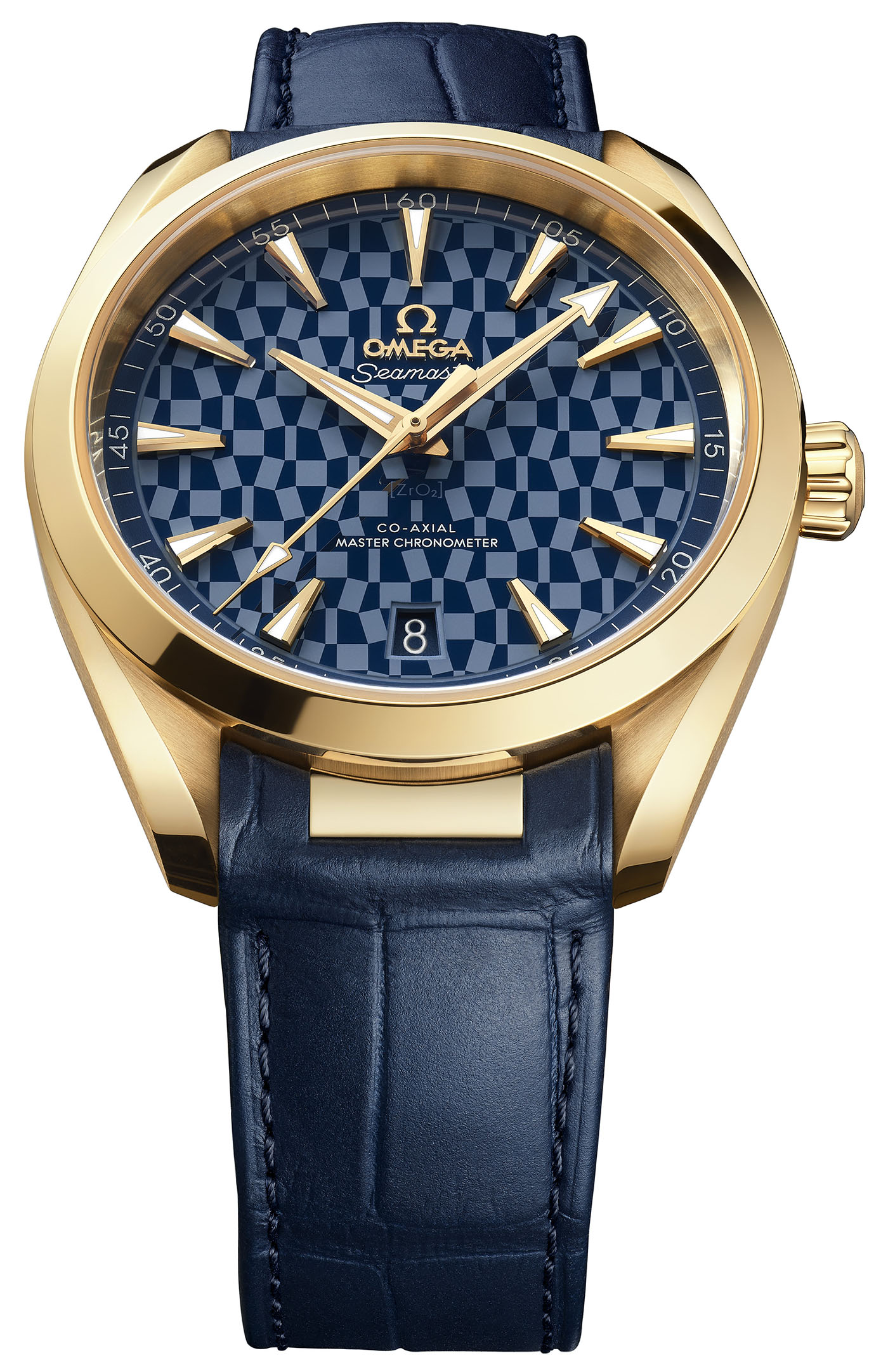 Omega представила золотые часы Seamaster Aqua Terra Tokyo 2020