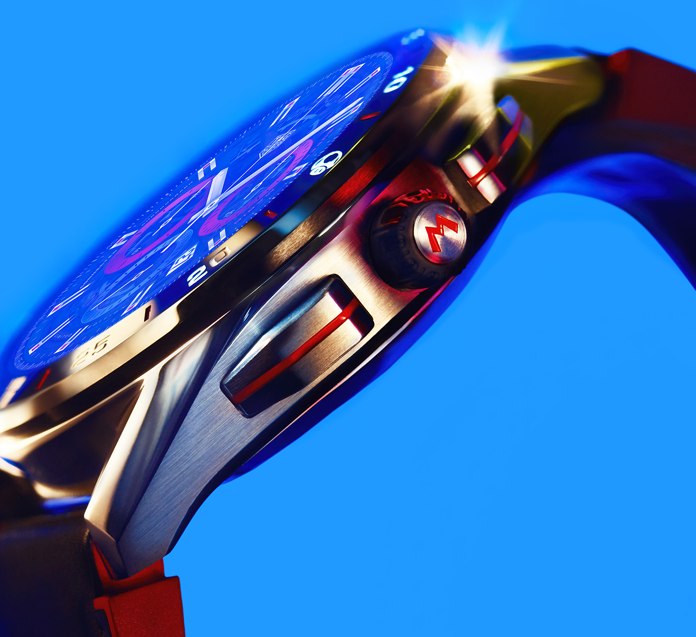 TAG Heuer представляет лимитированную серию смарт-часов Connected X Super Mario