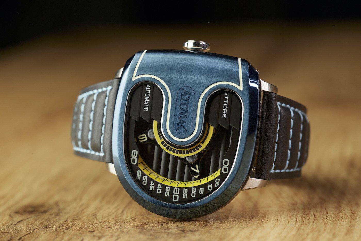 ATOWAK представляет дизайн суперкара и блуждающий часовой механизм на запястье в модели ETTORE