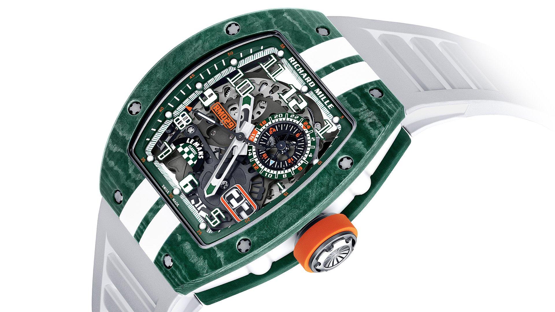 Richard Mille выпускает ограниченную серию классических часов RM 029 Le Mans