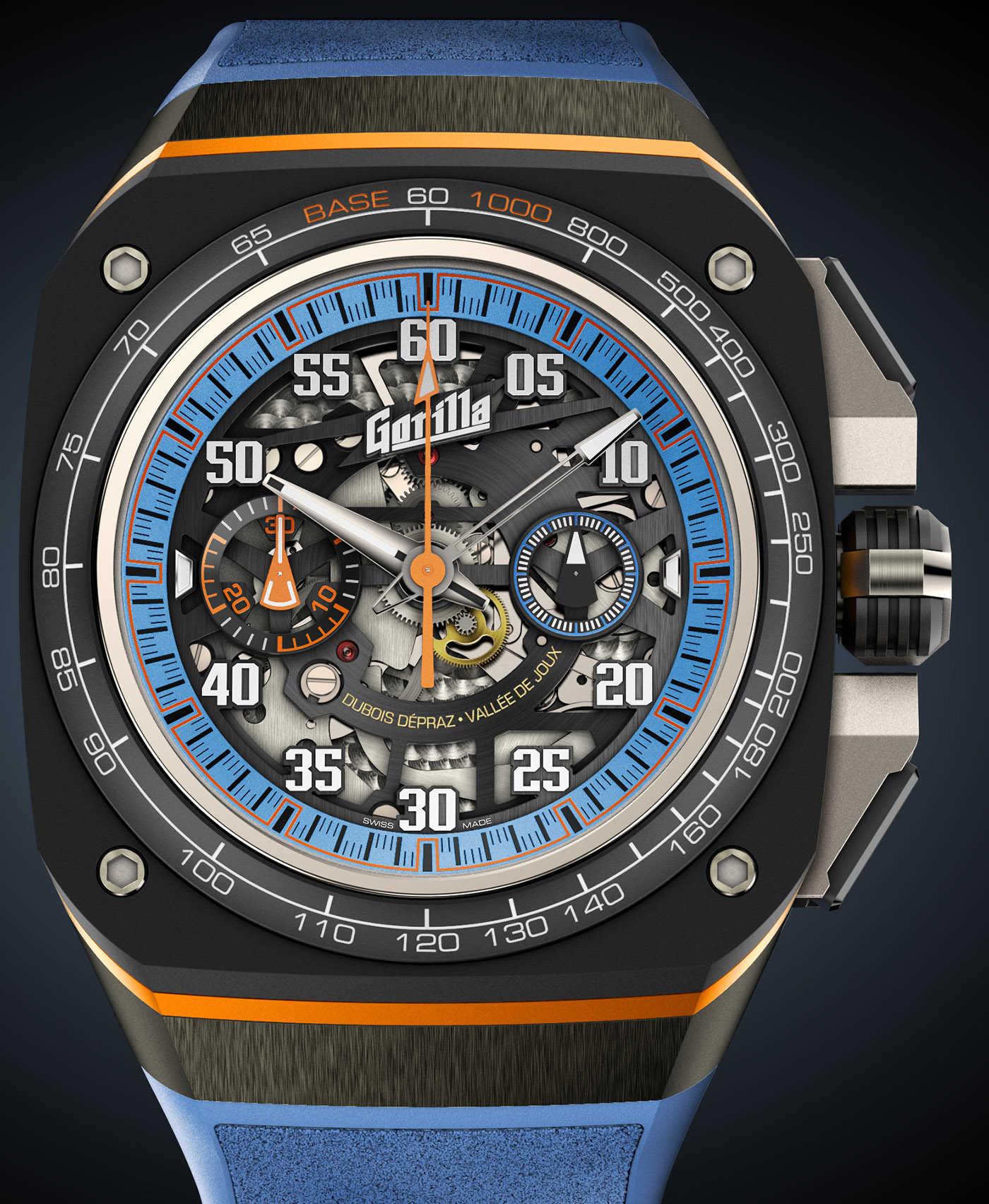 Gorilla объявляет о выпуске ограниченной серии часов Fastback Thunderbolt Chronograph