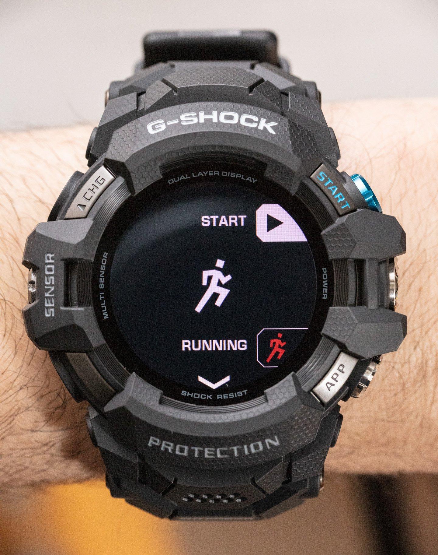 Обзор часов: умные часы Casio G-Shock GSWH1000 Wear OS