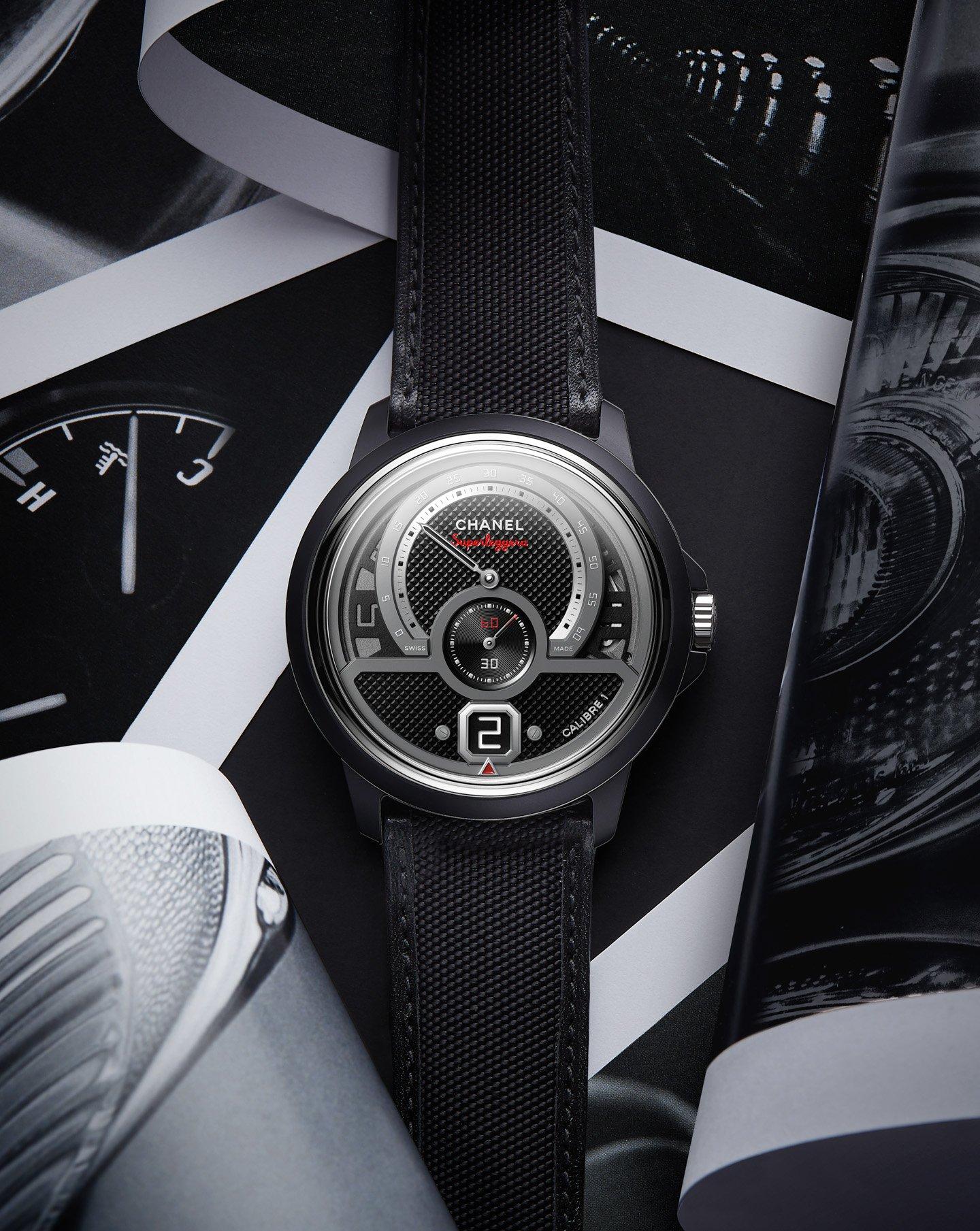 Часы Chanel Monsieur Superleggera Edition - автомобильный спорт встречает парижскую изысканность