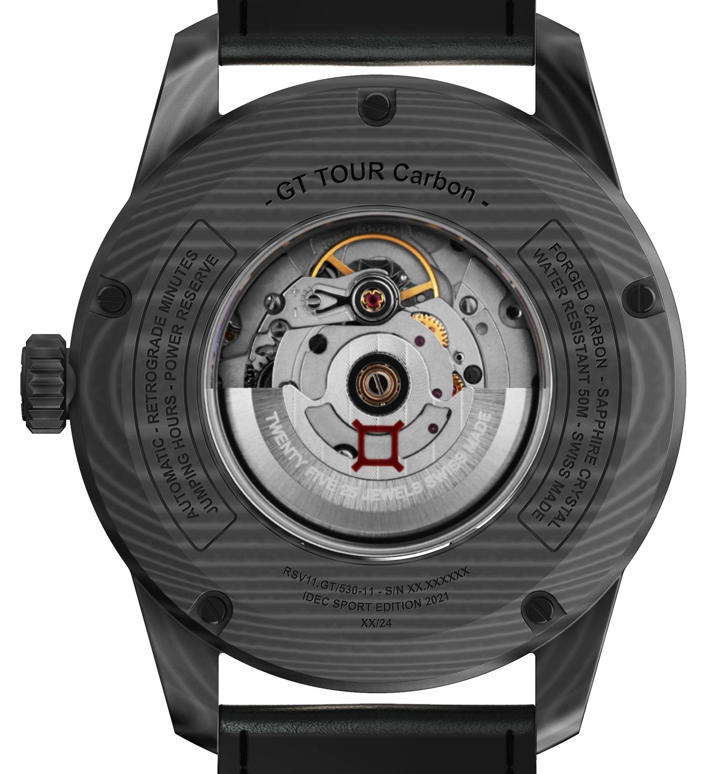 Часы в стиле гонки: Reservoir Debuts Limited GT Tour Carbon IDEC Sport Edition 2021